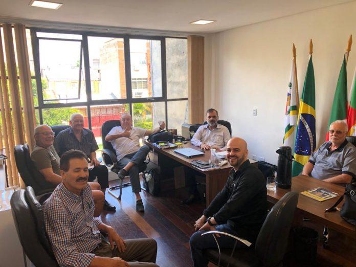 Reunião com a Mesa Diretora da PAEL-RS